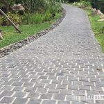 Basalt Cobblestone for plublic area such as driveway and parking areag area