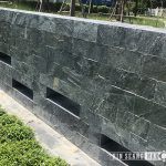 silver grey slate for wall cladding natural surface